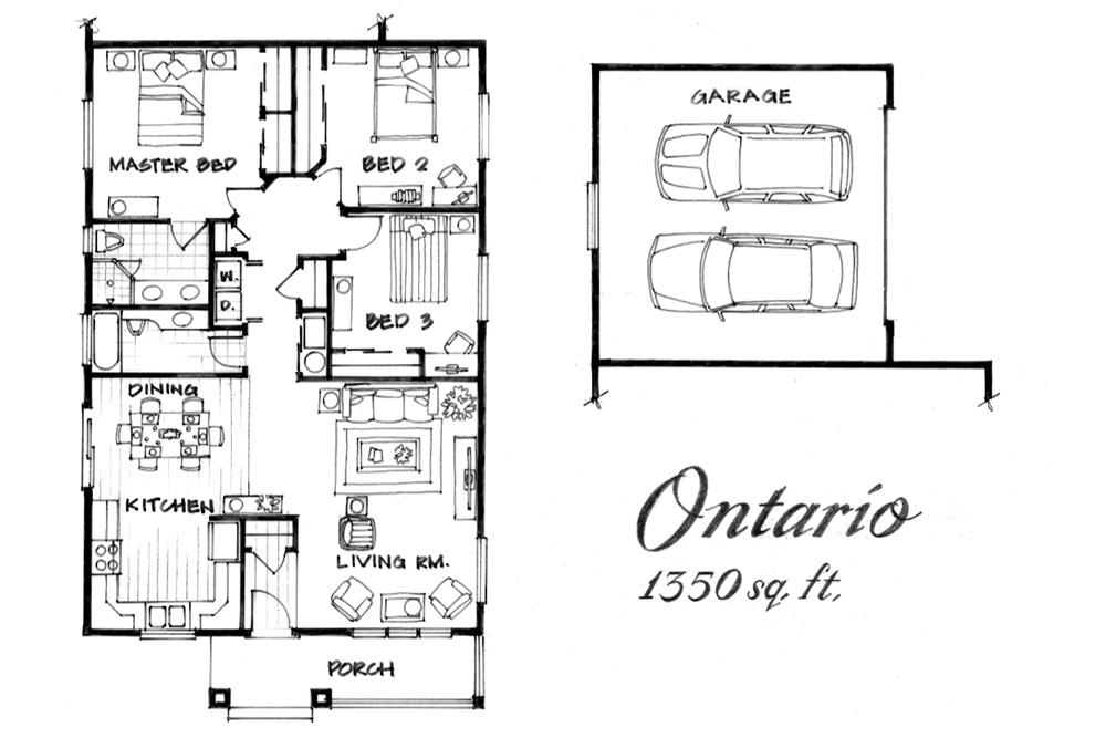 Ontario Floor Plan