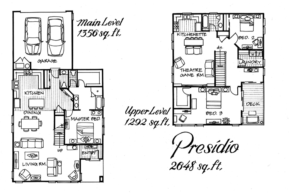 Presidio floor plan