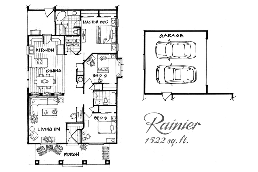 Ranier floor plan