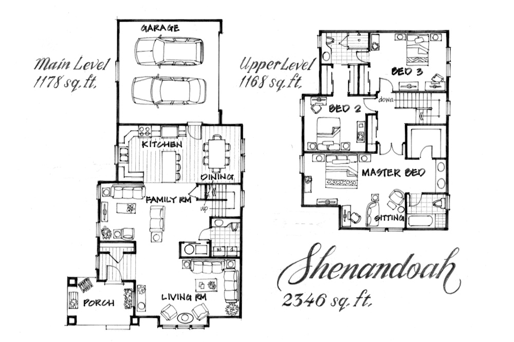 Shenandoah floor plan